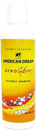 American Dream Afro Amore Coconut Shampoo - 250 ml, 1-pack (1 x 250 ml)