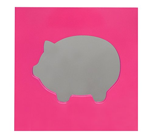 Wall Art Mirror in Piggy Design