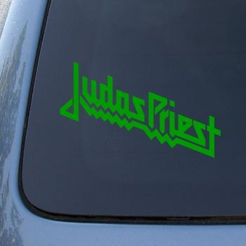 JUDAS PRIEST - Vinyl Car Decal Sticker #A1619 | Vinyl Color: Green