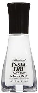 Sally Hansen Insta Dri Whirlwind White, Fingernail Polish 1 New Bottle