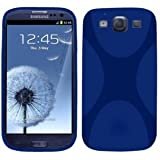 SAMSUNG i9300 GALAXY S3 / SIII / X-STYLE / X-WAVE / BLUE TPU GEL CASE / SKIN / COVER & PACK OF 6in1 SCREEN PROTECTORSby Mobyspares