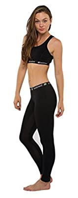 Best Women's Athletic Compression Pants - Toolshed Women's Compression Pants - Created by Former MLB Player Gregg Olson and Endorsed by Pro Athletes - 2 Colors Available - Perfect Sportswear for Football, Basketball, Baseball, Running, Cycling, Yoga, Skii