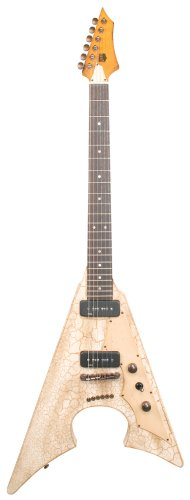 Axl Badwater Jacknife Electric Guitar, Crackle Brown