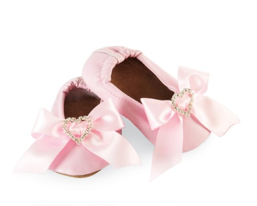 Mud Pie Baby-Girls Newborn Satin Bow Shoe Socks, Pink, 6-12 Months (Mud Pie Baby Girl Shoes compare prices)