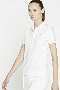 Short Sleeve Mesh Inset Polo