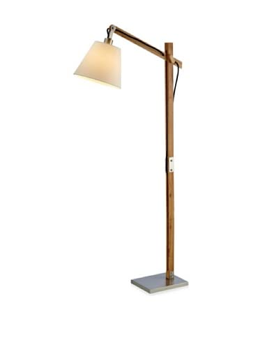 Adesso Walden 1-Light Floor Lamp, Natural