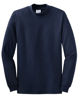 Port & Company Mock Turtleneck (Pc61M) Available In 9 Colors Xx-Large Navy