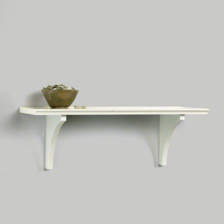 InPlace Shelving Mission Floating Shelf with Bracket, White Oak Finish (Oak Shelving Brackets compare prices)