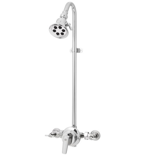 Speakman Sentinel Mark II S-1495-2254 Exposed Shower System with S-2254 Shower Head (Speakman S2254 Shower Head compare prices)