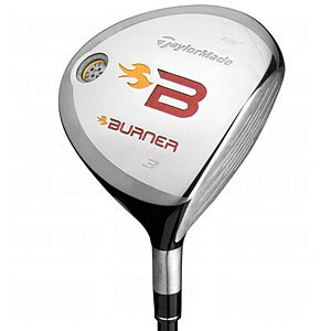 TaylorMade Burner 08 Fairway Wood - Graphite Shaft 3 Wood 15? Regular Flex