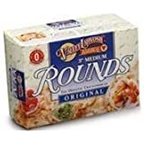 Valley Lahvosh Round Original Crackerbread, 4.5 Ounce -- 12 per case.