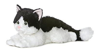 """12"""" Flopsie Oreo Cat by Aurora Plush"""