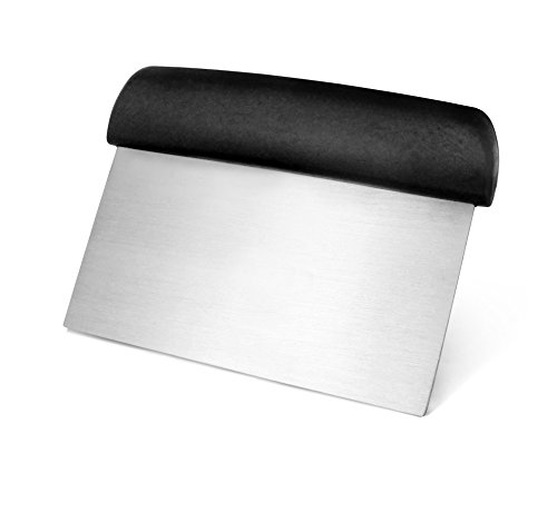 New Star Foodservice 36091 Plastic Handle Dough Scraper, 6 by 3-Inch, Black (Bench Mixer compare prices)