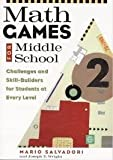 img - for Math Games for Middle School bySalvadori book / textbook / text book