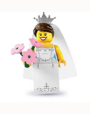 31Er hKZEeL Cheap Price Lego Minifigures Series 7   Bride   OPENED