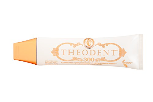 THEODENT 300 with Rennou: Whitening Crystal Mint - CLINICAL STRENGTH - Fluoride-Free Toothpaste Rebuilds, Hardens, and Strengthens Enamel to Reduce Sensitivity by Remineralizing The Enamel Surface (Theodent Classic compare prices)