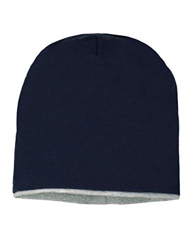 maximo - Jersey Beanie, einfarbig, Maglia per bambine e ragazze, blu (blau  (dunkelmarine 11)), 53