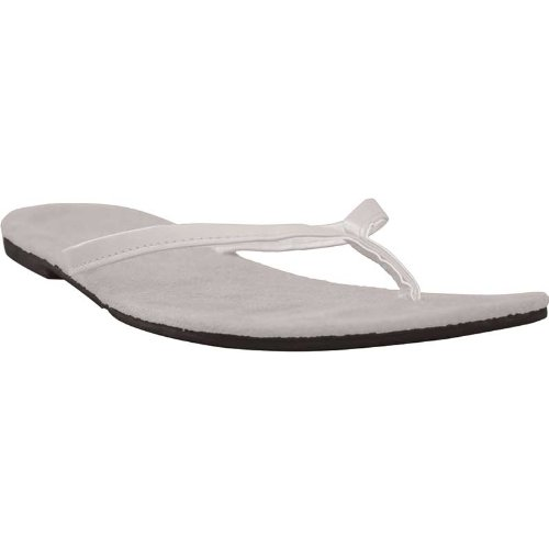 Usa Dawgs Bendables Flip Flops White Size 9-10 front-301343