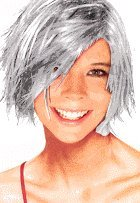 Temporary Spray In Hair Color (Silver)