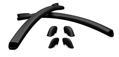 Oakley - Oakley Sunglass Half Jacket Nose Kit - Black - One Size (Oakley Frame Replacement compare prices)