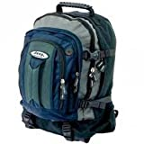 Jeep Backpack Rucksack Hand Luggage Size Cabin Flight Bag Various Colour (Blue)