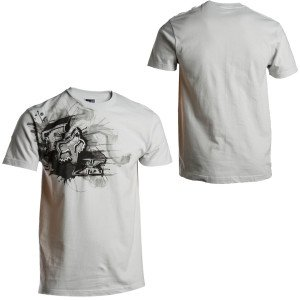 Fox Racing Presto T-Shirt – Large/Light Grey