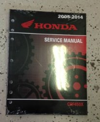 2012 2013 2014 2015 2016 Honda CRF450X CRF 450X Shop Service Repair Manual NEW (Honda Crf 450x compare prices)