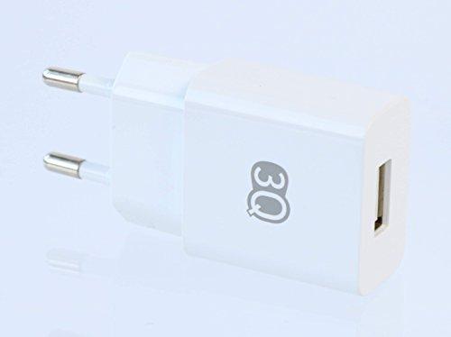 3Q-USB-Ladegert-11W-2100mA-21A-5V-Ladeadapter-EU-Netzteil-fr-Tablet-und-Handy-Wei