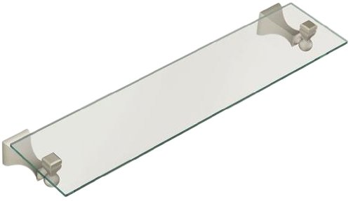 purchase moen dn8390bn retreat glass shelf brushed nickel mounted bathroom shelves saletoy515