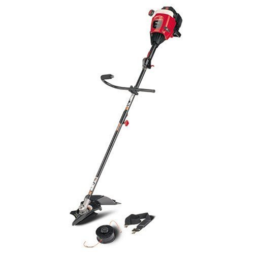 Troy-Bilt TB90BC 17-Inch 31cc 2-Cycle Gas Powered Straight Shaft String Trimmer/Brush Cutter With Detachable Shaft