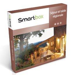 Coffret Cadeau Smartbox - Séjour et table régionale