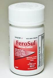 [3 PACK] FeroSul® 325mg (5GR) Ferrous Sulfate Coated Easy-To-Swallow 100 ct. Tablets (Red)