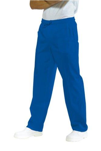 044400 Pantalone con elastico Azzurro Ospedale per Abbigliamento per la cucina per Abbigliamento per settori sanitario, benessere ed estetico per Divise ufficiali Federazione Italiana Cuochi FIC Donna Uomo Pantaloni