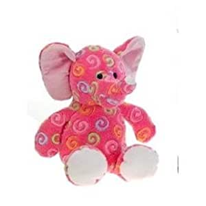 "Swirl print Pink Elephant 18"" by Fiesta"