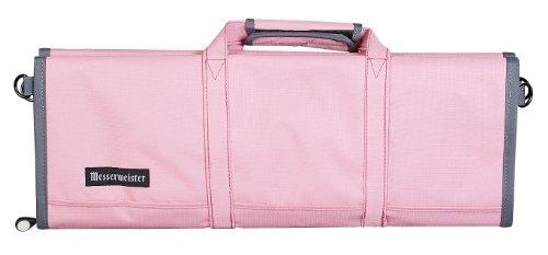 Messermeister 12 Pocket Knife Roll, Pink Lady