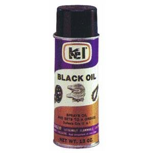 Kelloggs 57300 Black Oil Chain And Cable Lubricant