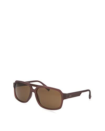 Guess GU6804-MBRN-1 Women's Sunglasses,  Maroon, Brown As You See