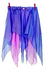 Sarah's Silks Rainbow Reversible Silk Fairy Skirt