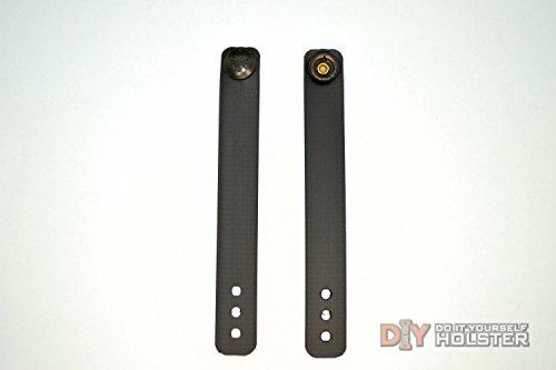 Diy Kydex Holster Iwb Soft Loops - Black, 6-Pack