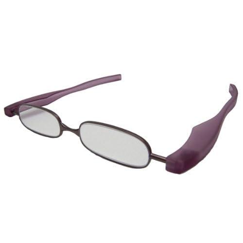 ジェーシー 折りたたみ老眼鏡 快読メガネSMART +2.0度 パープル KI-03-20