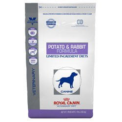 Royal Canin Veterinary Diet Canine Hypoallergenic PR Potato & Rabbit Dry Dog Food 17.6 lb