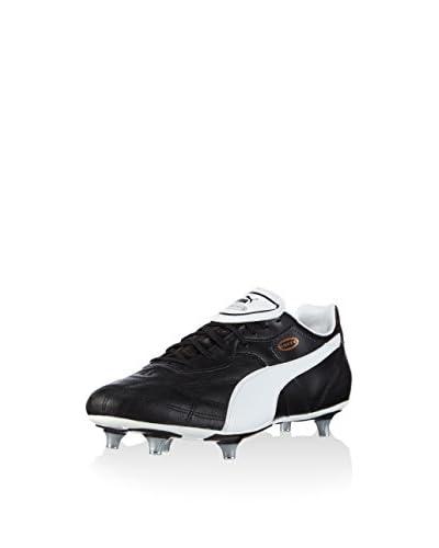 Puma Esito Classico SG, Calcio scarpe da allenamento uomo, Nero (Schwarz (black-white-bronze 01)), 43