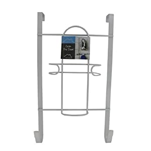 Spectrum 66300 Over the Door Holder for Iron and Ironing Board
