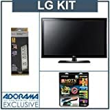 LG 55LK530 55 inch 1080p LCD HDTV, with Accessory Kit (2 HDMI Cables, 1 RGB ....