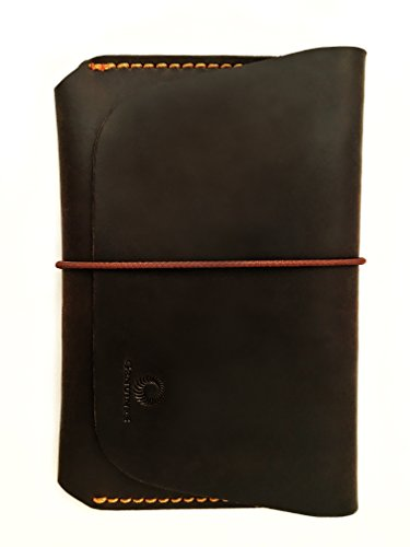 leather-passport-holder-for-men-women-genuines-wallet-case-for-1-or-2-passports-vintage-brown