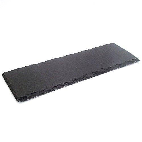 天然石プレート スレートボード 30cm 長皿 石影