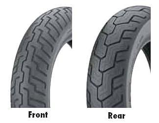 Dunlop Motorcycle D206 130/80R18 HON ACE FRT Tires D206 – 32KU83