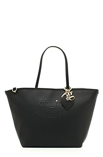 BORSA BLUGIRL LARGE SHOPPING BLACK 001