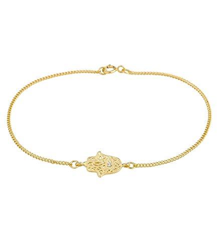 six 925er silber damen armband armschmuck gold mit. Black Bedroom Furniture Sets. Home Design Ideas