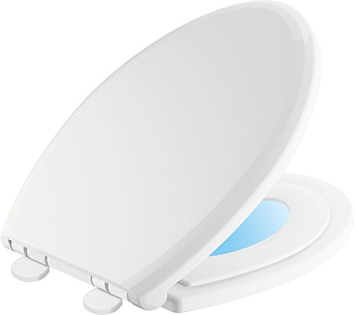 Delta Faucet 833902-N-WH Sanborne Elongated Potty Training Nightlight Toilet Seat with Slow Close, White (Slow Close Potty compare prices)